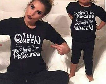 PRINCESS or PRINCE PJs. Matching Disney theme PJs, matching princess and Queen PJs, matching prince and Queen PJs.