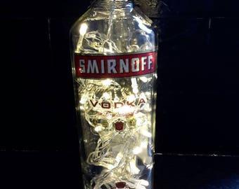 Vodka light. Smirnoff bottle.