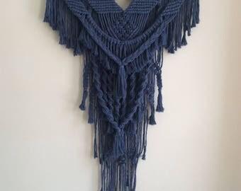 Phoenix* Macrame wall hanging/Macrame tapestry/bohemian decor/driftwood decor/rope art