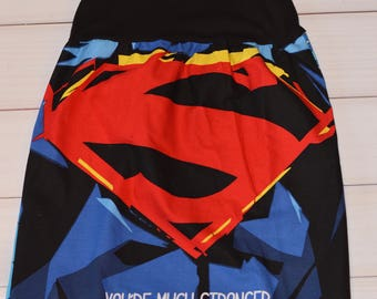 Girls Superman Inspired dress