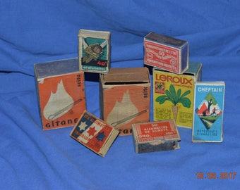 Boxes advertising vintage