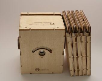Pinhole camera Ranica etwa 4x5
