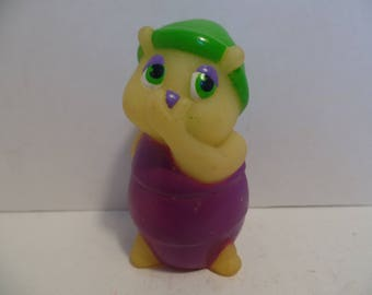 1986 GLOW WORM Friends (Finger Puppet) FREE Shipping