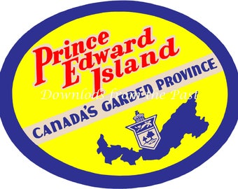 Prince Edward Island Ephemera Vintage Digital Download