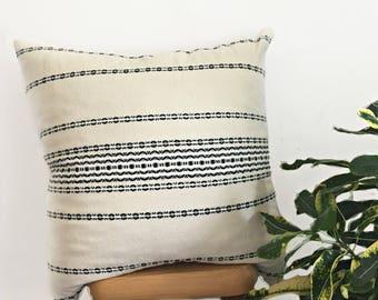 "Designer Organic Pillow Cover/ 20""x20""/ Decor pillow/Pillow cover only"