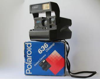 Vintage Polaroid Close Up 636, Polaroid Camera, Vintage Camera, Retro Camera, Retro photoCamera, Polaroid, Polaroid 636