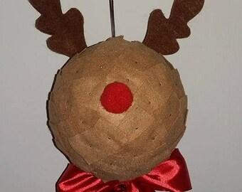 Ball Christmas Reindeer