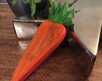 Wooden Carrot -Large