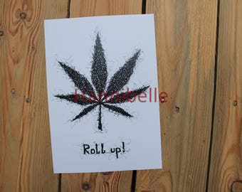 """Poster """"roll up"""""""