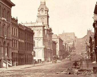 "1864 South California St, San Francisco, CA Vintage Photograph 11"" x 17"" Reprint"