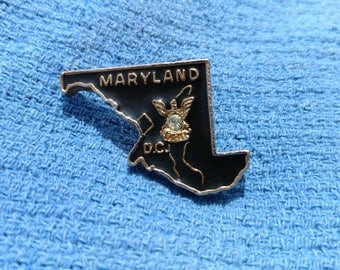 Vintage Maryland Pin
