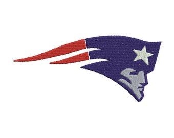 New England Patriots embroidery 9 Size Design Instant Download 8 Formats machine embroidery pattern Download machine embroidery