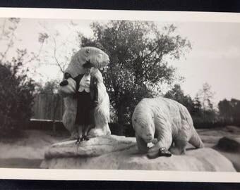1940s Sloth Statues Photo