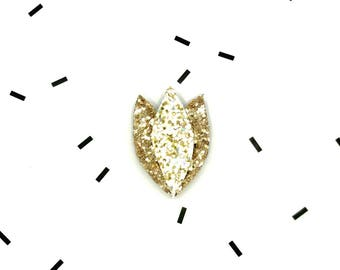 Hand Made sequin Tulip Pin