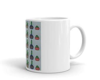 Potted Cactus Mug
