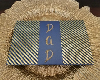 Father's Day, Happy Father's Day, Unique Greeting Card, Handmade Cards, ReynoldsGrahamDesign, A9