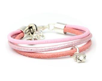 Starlet pink bracelet