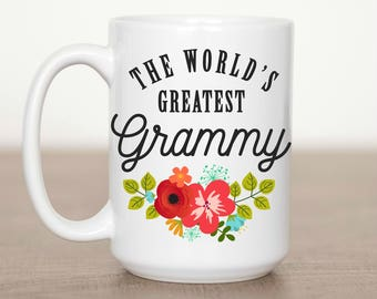 15 oz The World's Greatest Grammy Mug