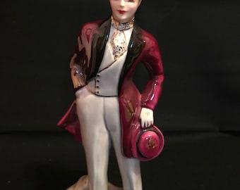 Vintage Florence Ceramics Figurine, 'Gary'