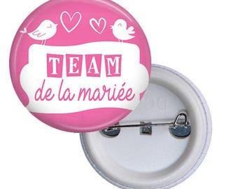 1 Team badge of the bride, bridesmaid ______ personalized 3