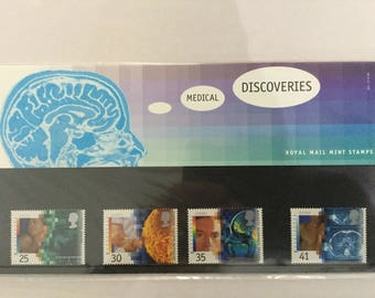 Medical Discoveries Royal Mail Mint Stamps Presentation Pack 1994
