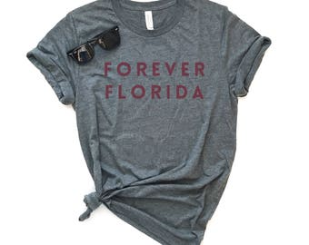 Forever Florida - 5 Colors - Unisex Short-Sleeve Unisex T-Shirt - Hurricane Relief - Graphic Tee - Charity