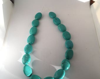 ATTENTION BEADERS: 16 inch unstrung natural Turquouse beads