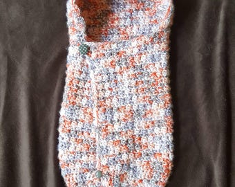 Crochet Baby Cocoon - Adjustable Baby Wrap - Ready-Made or Made-to-Order