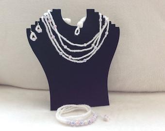 Crocheted Jewellery Set