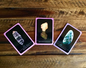 Three Card Reading from The Crystal Wisdom Healing Oracle ~ Email PDF