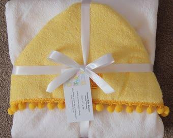 Hooded Baby Blanket ~ 20N-898
