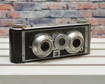 ILOCA Stereo II 35mm film viewfinder camera