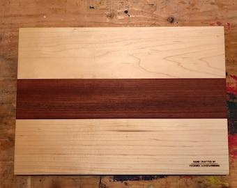 Birdseye Maple/Jatoba Cutting Board