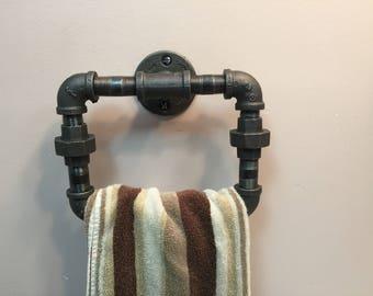 Industrial design towel rack