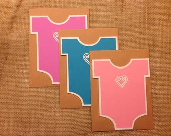 Hmong Cards - Baby Bodysuits