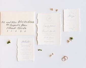 Custom Wedding suite. Dreamy Wedding invitation template. Digital invitation. Printable wedding invitation. Minimalist wedding invitations.