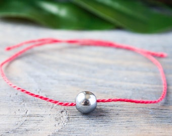 Red String Bracelet Red String of Fate His and Her Magnet Wish Bracelet Red Thread Wrist String Kabbalah Bracelet Protection Amulet Magnetic