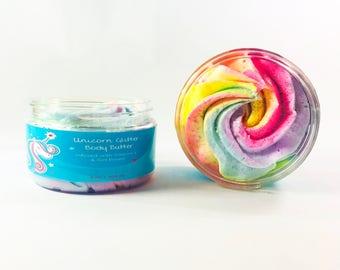Zoey Koko Unicorn Glitter Body Butter -All natural, perfect for girls!