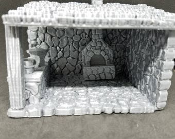Blacksmith Shop - 3D Printed 28mm Scale