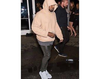 Street Wear Kanye West Pablo Yeezus HipHop Fleece Hoodie
