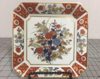 OMC Japan porcelain plate. 6 x 6.