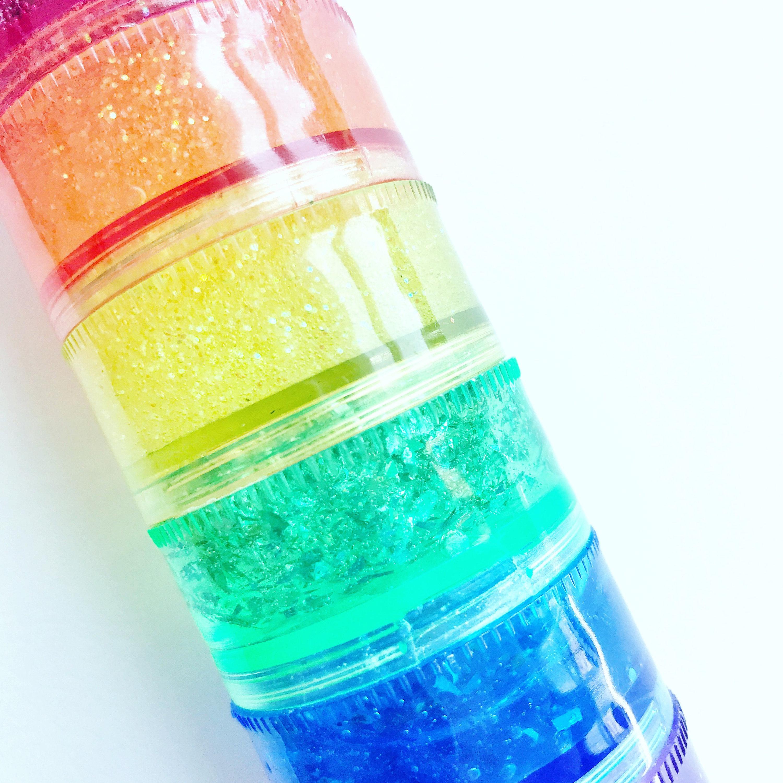 how to make clear glitter slime