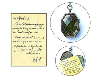 Horcrux Locket Necklace