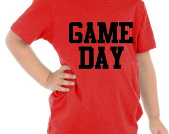 Game Day Shirt / Custom Game Day Shirts / Personalized Shirts / Custom Shirts / Graphic Tees / Football Shirts / Youth Football Shirts