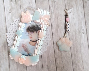 Ready to ship : Jungkookg - BTS/Kpop decoden phone case - cell phone for Iphone 7/7s Vanilla scented