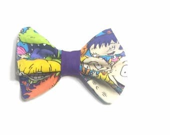 The rugrats, rugrats bow, the rugrats bow, hair bow, girls hair bow, baby hair bow, photography prop