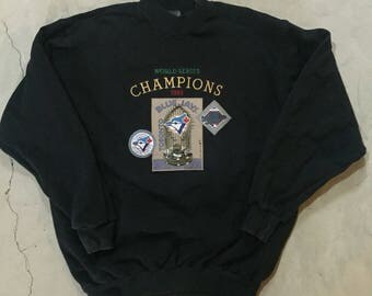 1993 Toronto blue Jays pullover sweater