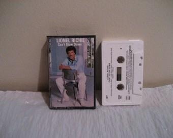LIONEL RICHIE, cant slow down, cassette tape