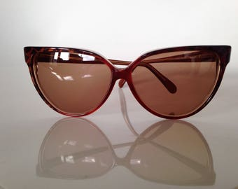 Cat eye glasses - Rochas - Paris - french - like new - Vintage