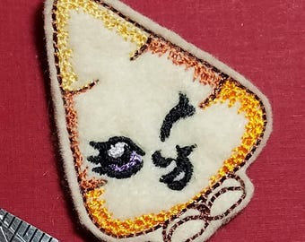 Candy Corn Feltie - Machine Embroidery Design